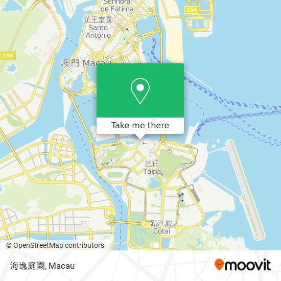 海逸庭園 map