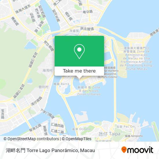 湖畔名門 Torre Lago Panoramico map