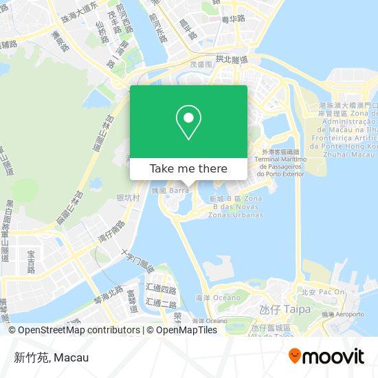 新竹苑 map