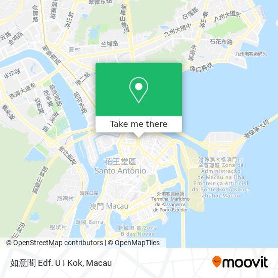 如意閣 map