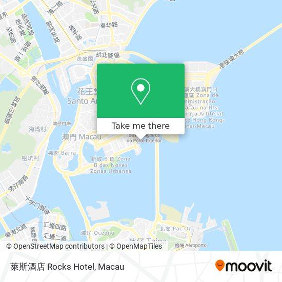 萊斯酒店 Rocks Hotel map