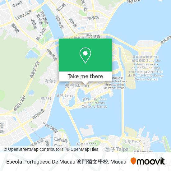 Escola Portuguesa De Macau 澳門葡文學校 map