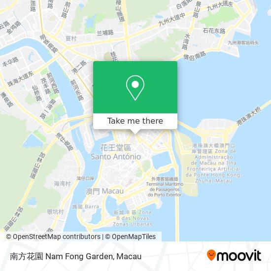 南方花園 Nam Fong Garden map