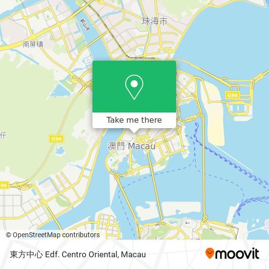 東方中心 Edf. Centro Oriental map