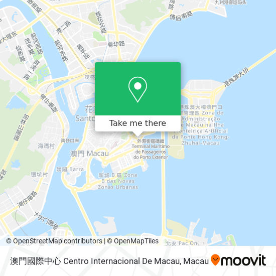 澳門國際中心 Centro Internacional De Macau map