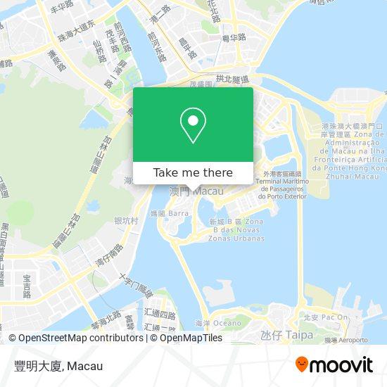 豐明大廈 map