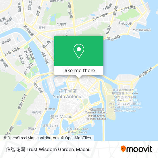 信智花園 map