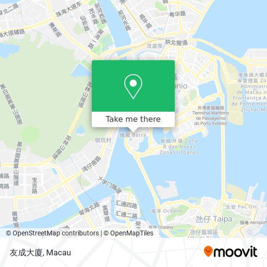 友成大廈 map