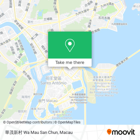 華茂新村 Wa Mau San Chun map