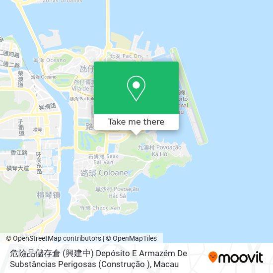澳門青年挑戰福音戒毒中心 Associação Desafio Jovem Macau map