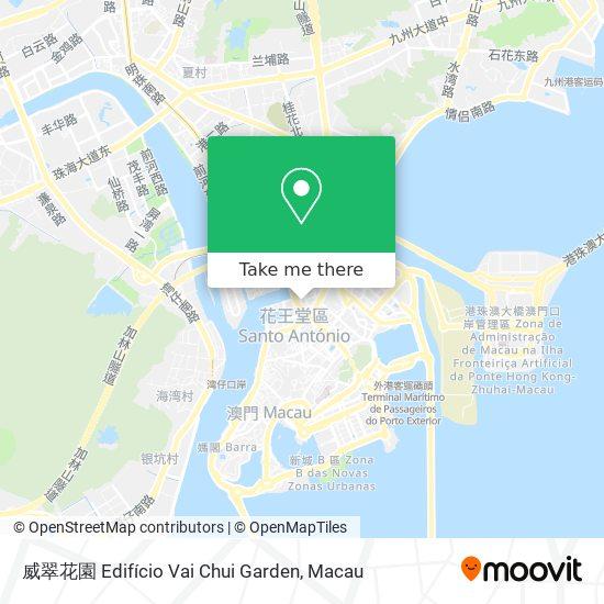 威翠花園 Edifício Vai Chui Garden map