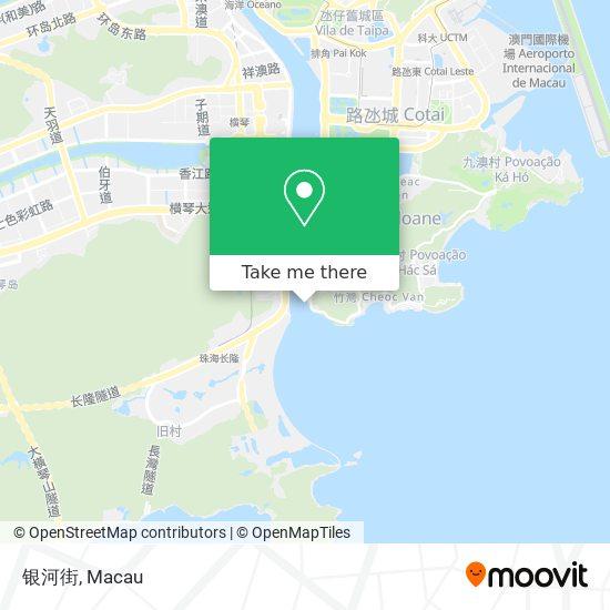 银河街 map