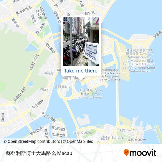 蘇亞利斯博士大馬路 2 map
