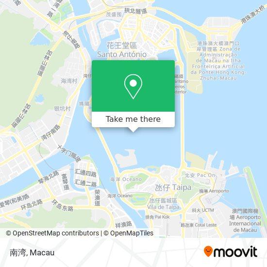 南湾 map