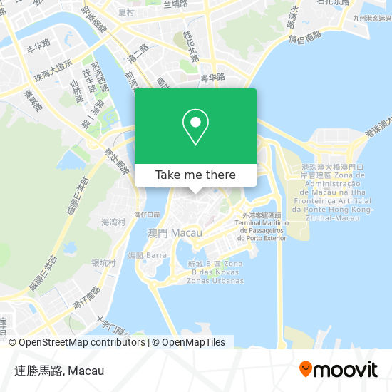 連勝馬路 map