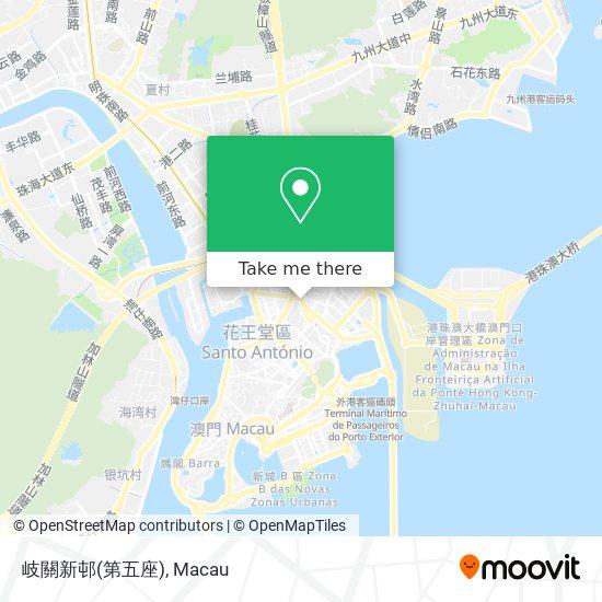 岐關新邨(第五座) map