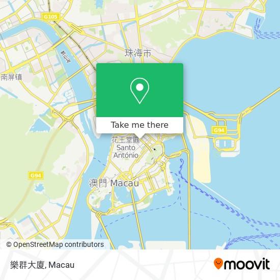樂群大廈 map