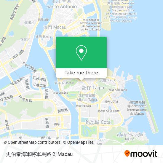 史伯泰海軍將軍馬路 2 map