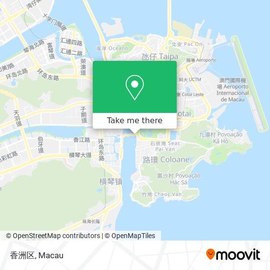 香洲区 map