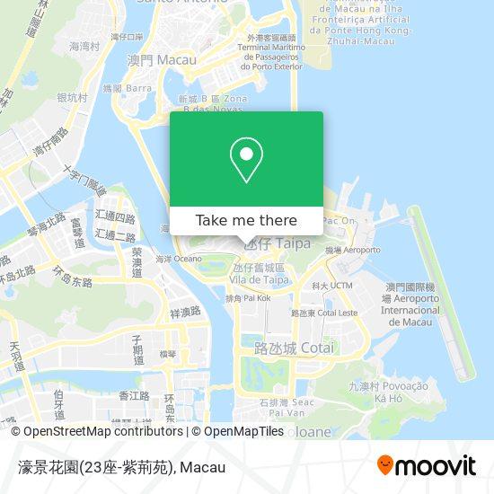 濠景花園(23座-紫荊苑) map