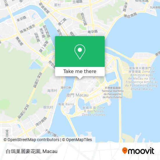 白鴿巢麗豪花園 map