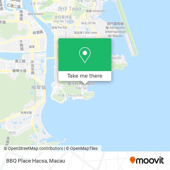 BBQ Place Hacsa map