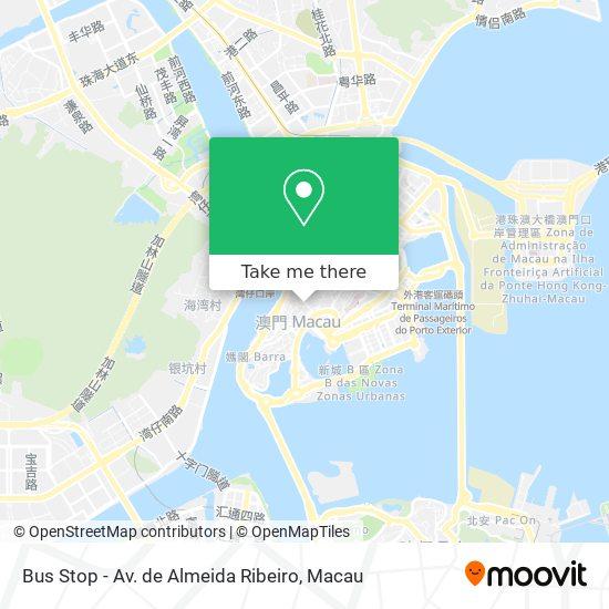 Bus Stop - Av. de Almeida Ribeiro map