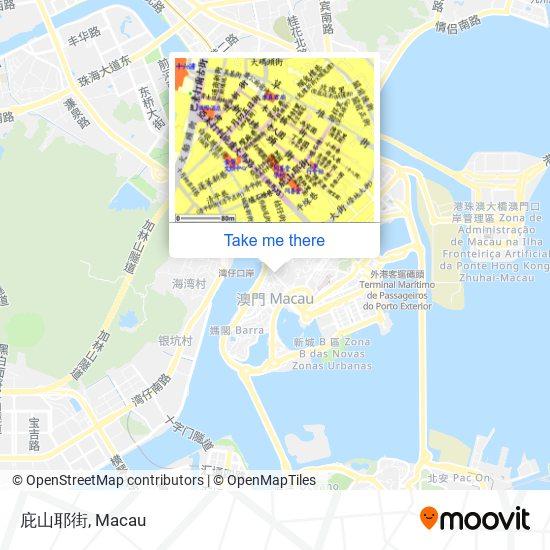 庇山耶街 map