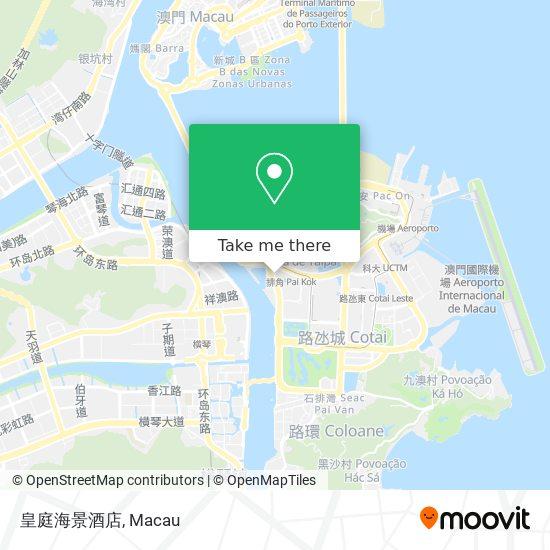 皇庭海景酒店 map