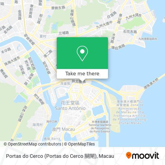 Portas do Cerco map