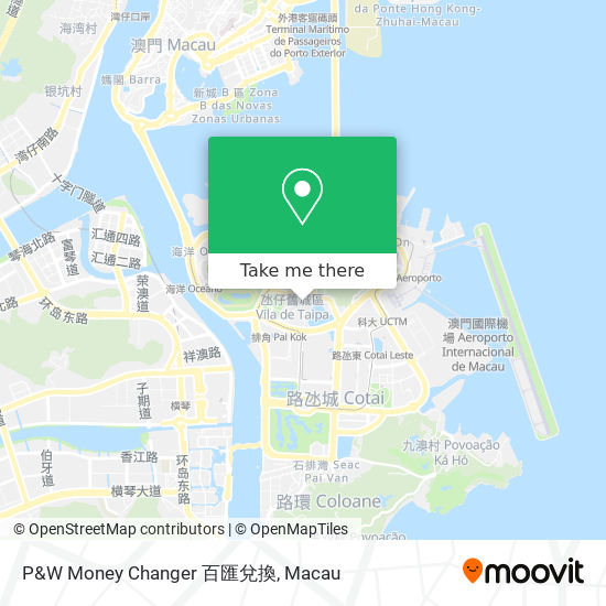 P&W Money Changer 百匯兌換 map