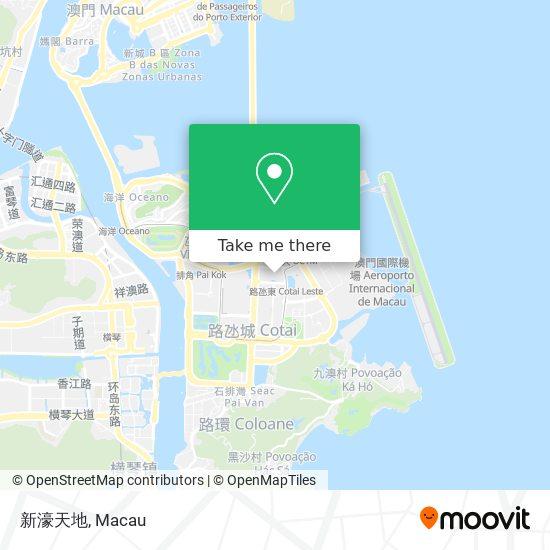 新濠天地 map