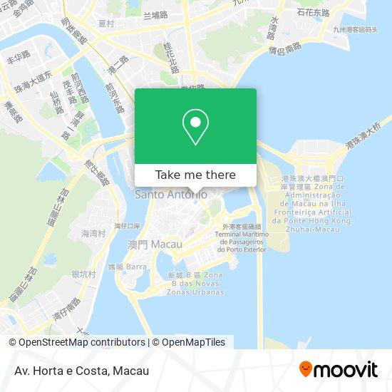 Av. Horta e Costa map