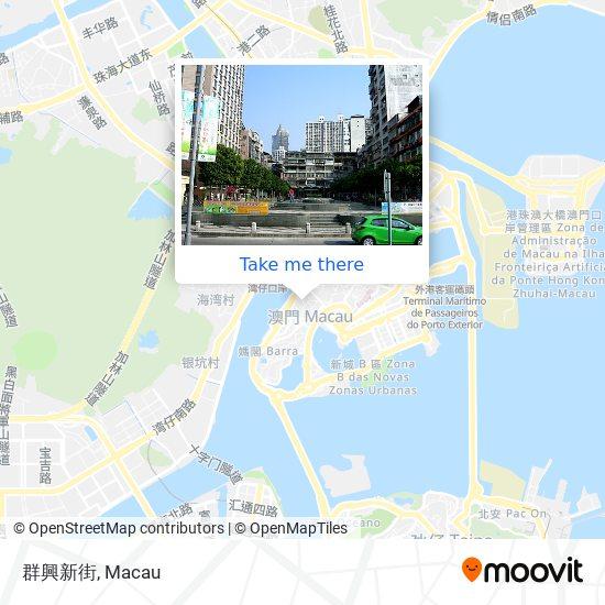 群興新街 map