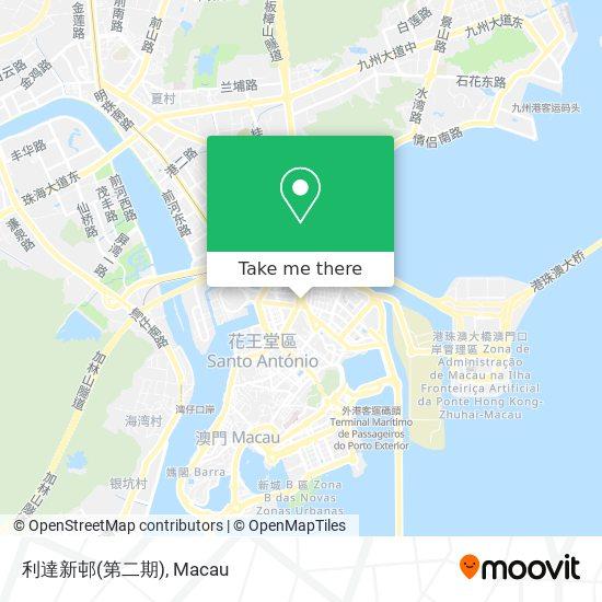 利達新邨(第二期) map