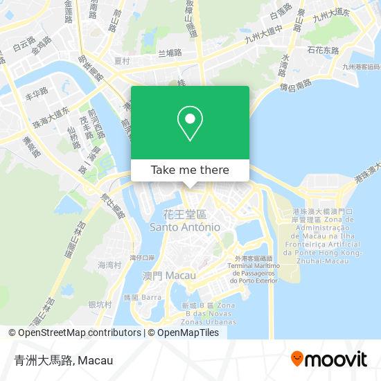 青洲大馬路 map