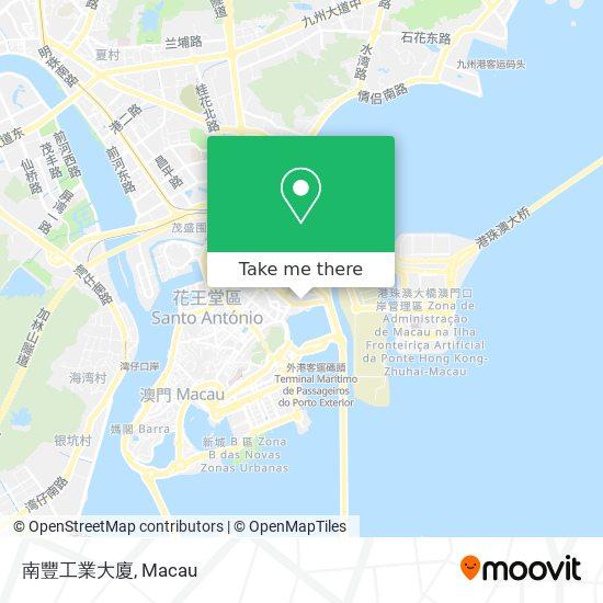 南豐工業大廈 map