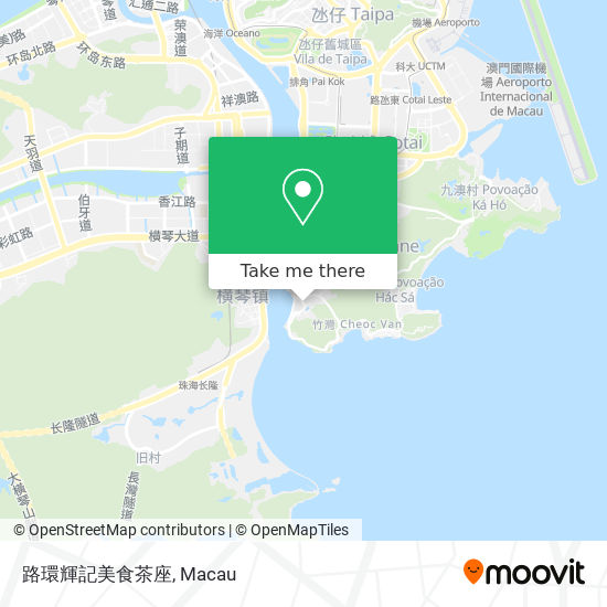 路環輝記美食茶座 map