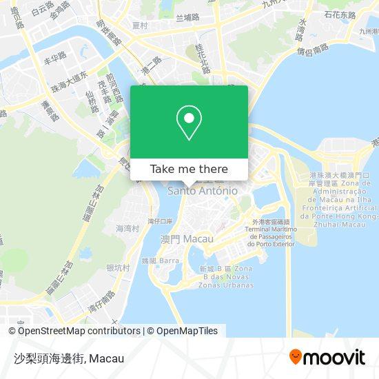 沙梨頭海邊街 map