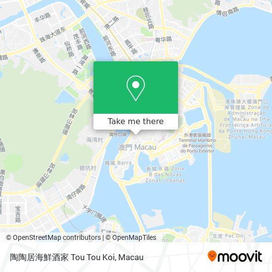陶陶居海鮮酒家 Tou Tou Koi map