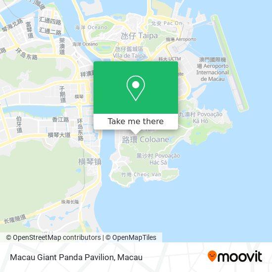 Macau Giant Panda Pavilion map
