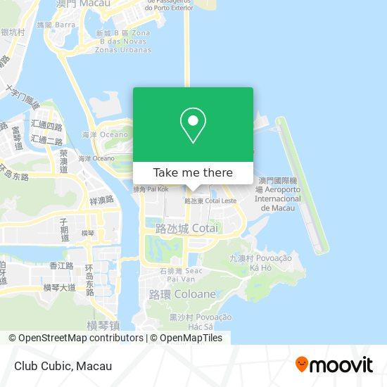 Club Cubic map