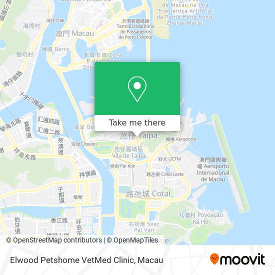 Elwood Petshome VetMed Clinic map
