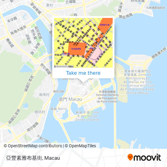 亞豐素雅布基街 map