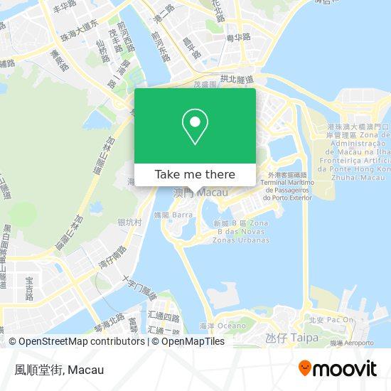 風順堂街 map