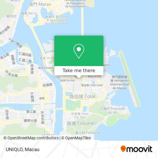 UNIQLO map