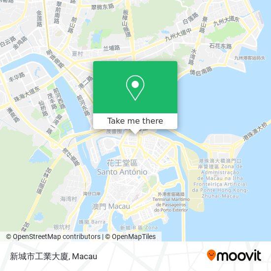 新城市工業大廈 map