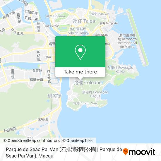 Parque de Seac Pai Van (石排灣郊野公園 | Parque de Seac Pai Van) map