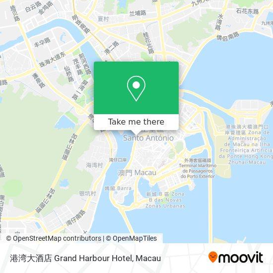 港湾大酒店 Grand Harbour Hotel map