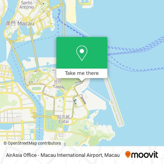 AirAsia Office - Macau International Airport map